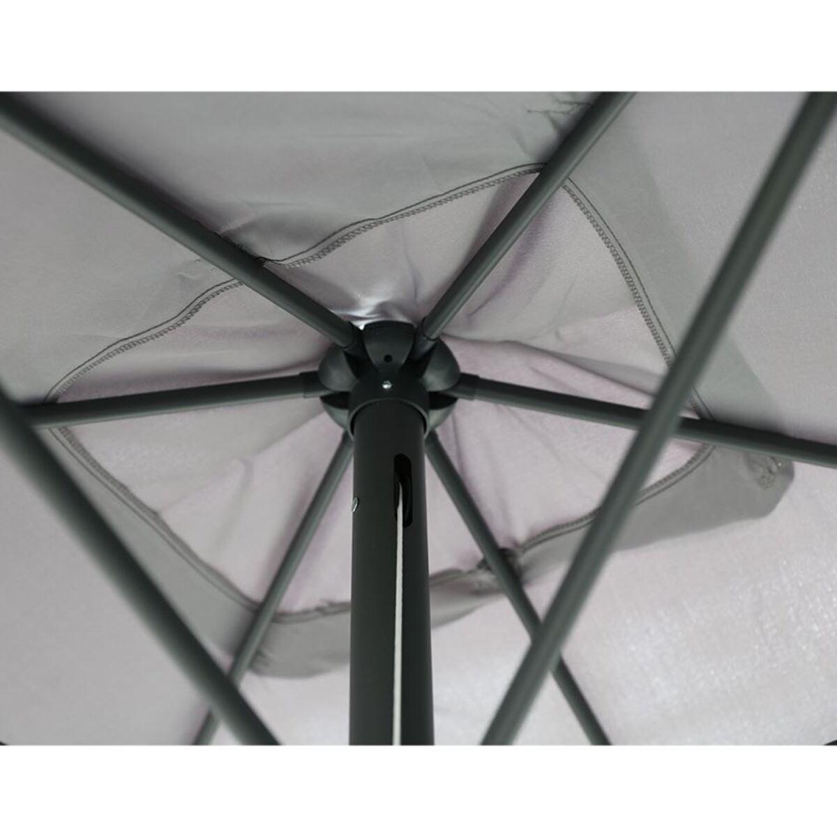 Bild 4 von Alu-Sonnenschirm rechteckig 3x2m Weiss