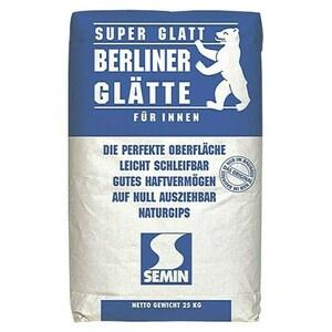 Semin Füll- und Glättspachtel Berliner Glätte Super Glatt