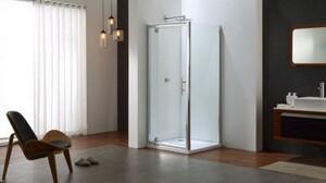 TrendLine Pivot-Tür Easy 6 mit Seitenwand, 90x90 cm