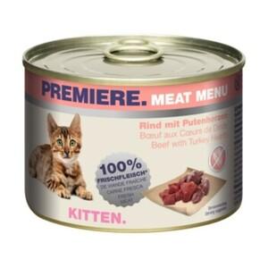 PREMIERE Meat Menu Kitten 6x200g