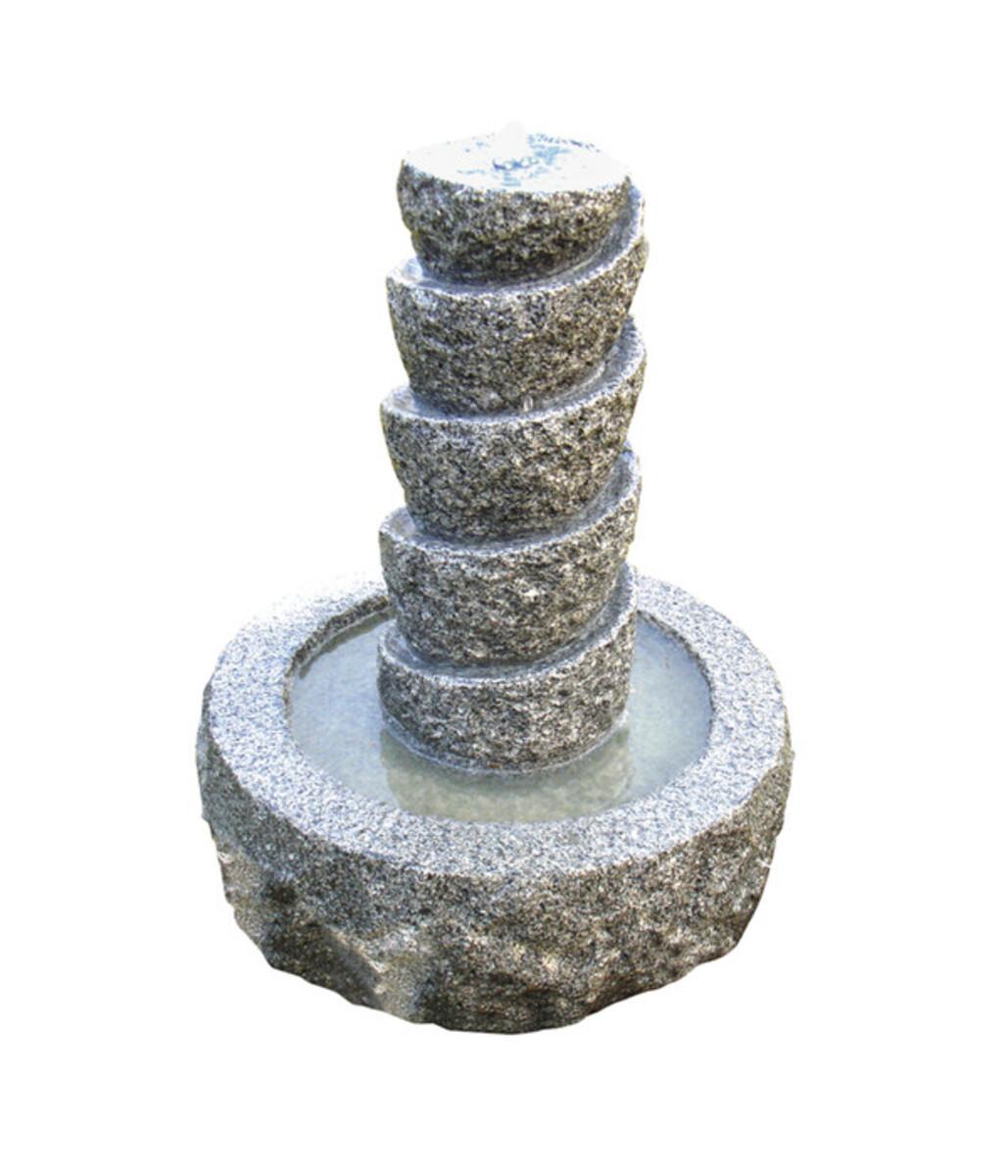 Bild 1 von Dehner Granit-Brunnen Drill für den Garten, Ø 45 cm