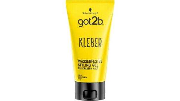 Schwarzkopf got2b Styling Gel Kleber wasserfest