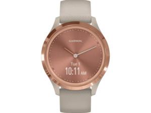 GARMIN Vivomove 3S Sport Smartwatch kaufen. Armband: Silikon, k.A., Farbe Beige/Rosegold | SATURN