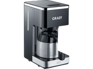 GRAEF FK 412 Kaffeemaschine mit Thermokanne in Schwarz