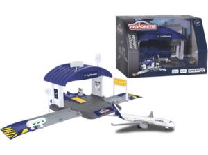 DICKIE TOYS Dickie Toys Creatix Flughafen Lufthansa Hangar Spielset