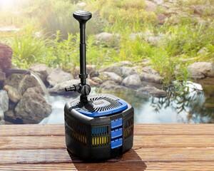 MAUK UV-C Kassetten Teichfilter System Unterwasser Komplettset