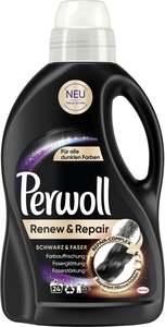 Perwoll Renew & Repair Schwarz & Faser Flüssigwaschmittel 24 WL