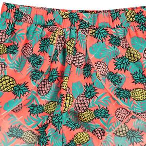 Mädchen Flattershorts mit Ananasprint