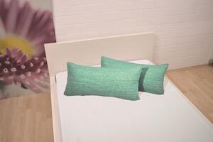 Dreamtex Jersey Kissenbezüge 2er Set 40x80 cm, grün melange