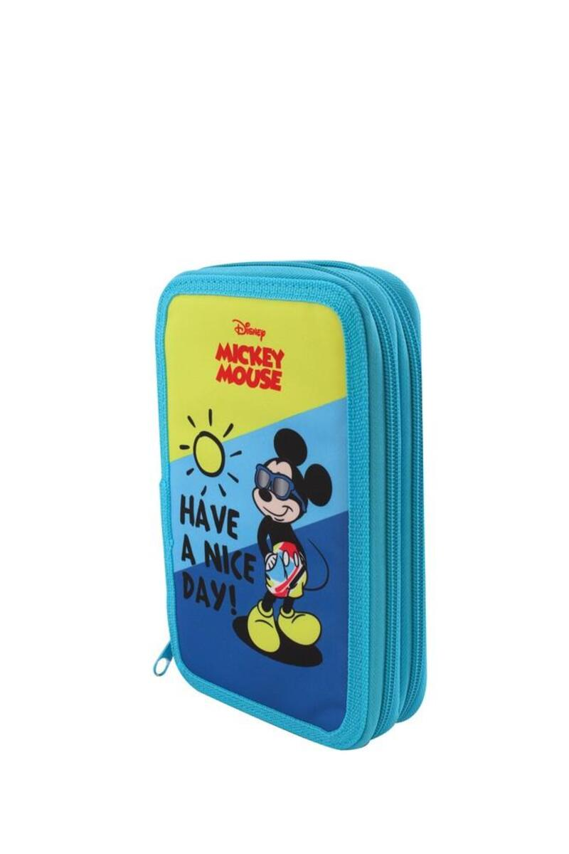 "Bild 1 von Spree Schüleretui Doppeldecker Disney ""Mickey Mouse"""