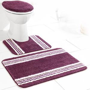 Sensino Badezimmer-Garnitur für Stand-WC, 3-tlg. - Plum Pako