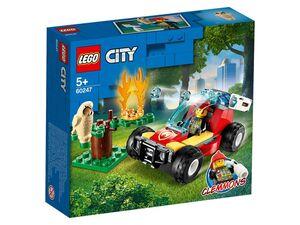 LEGO® City Waldbrand »60247«, 84 Teile, mit Feuerwehrbuggy, ab 5 Jahren