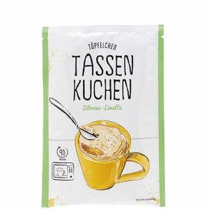 TÜPFELCHEN Tassenkuchen Zitrone
