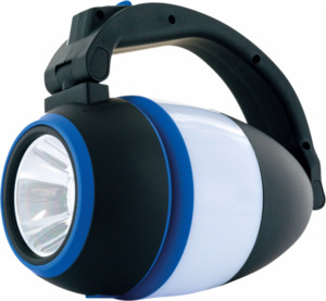Schwaiger LED-Camping-Lampe 3-in-1