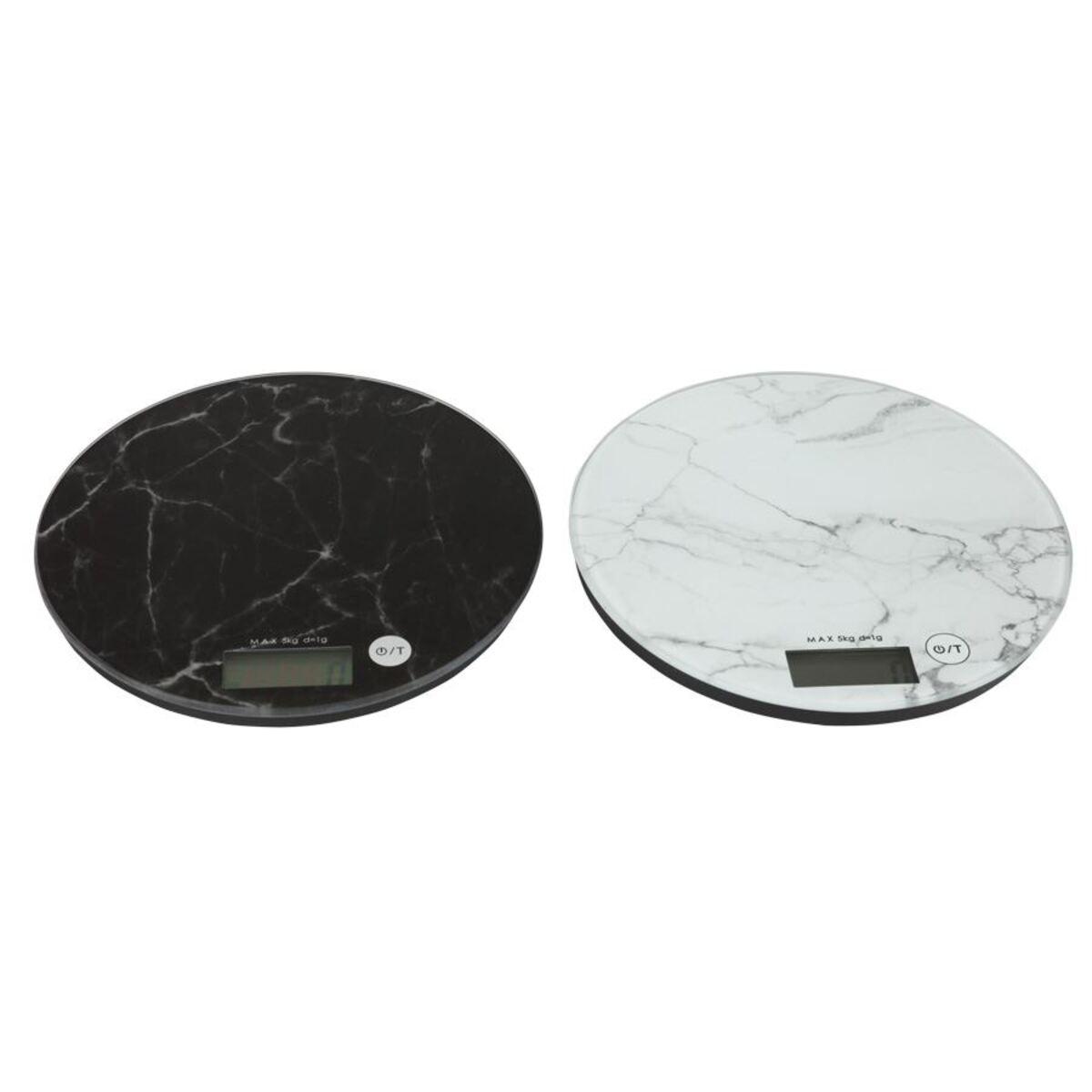 Bild 3 von Digitale Küchenwaage im Marmor-Design