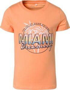 T-Shirt NKFVIX  orange Gr. 122/128 Mädchen Kinder