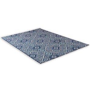 In-/Outdoorteppich - blau - 120x170 cm
