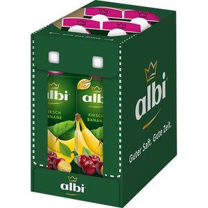 albi Kirsch-Bananen-Nektar 1 Liter, 6er Pack