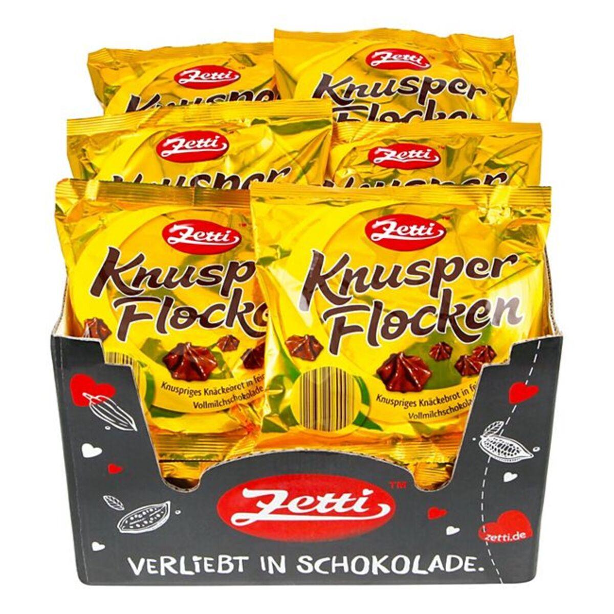 Bild 1 von Zetti Knusperflocken 350 g, 26er Pack