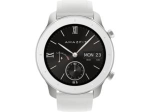 AMAZFIT GTR 42.6 mm Smartwatch kaufen. Armband: Silikon, 118 mm + 75 mm, Farbe Moonlight White | SATURN