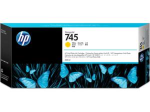 HP 745 Tintenpatrone Gelb (F9K02A)