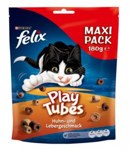 Felix Play Tubes Huhn & Leber KaSnacks