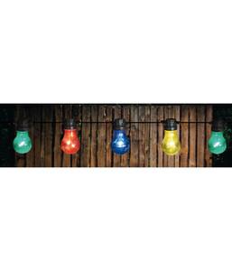 LED-Lichterkette Retro Multicolor, 10 LEDs