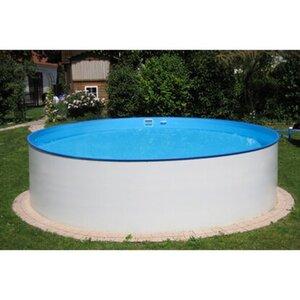 Summer Fun Stahlwand Pool-Set ARIZONA Aufstellbecken Weiß Ø 350 x 90 cm
