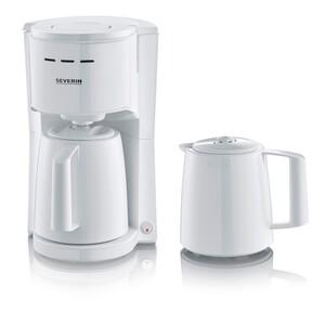 Severin Kaffeeautomat mit 2 Thermoskannen KA 9252 - Weiß