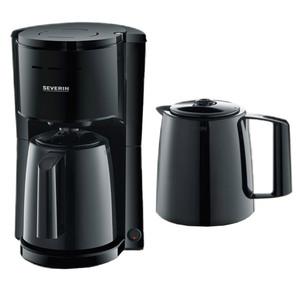 Severin Kaffeeautomat mit 2 Thermoskannen KA 9252 - Schwarz