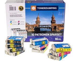 TONERDUMPING XXL Tintenpatronen Spar-Set Epson 16XL 10er Set