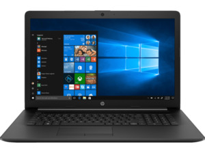 HP 17-ca1320ng, Notebook mit 17.3 Zoll Display, AMD Ryzen 5 Prozessor, 16 GB RAM, 256 GB SSD, Radeon Vega 8, Schwarz