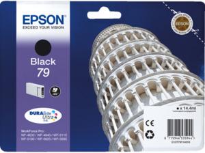 EPSON Original Tintenpatrone Turm von Pisa Schwarz (C13T79114010)