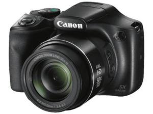 CANON PowerShot SX540 HS Digitalkamera, 20.3 Megapixel in Schwarz