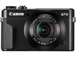 CANON PowerShot G7 X Mark II Digitalkamera, 20.1 Megapixel in Schwarz