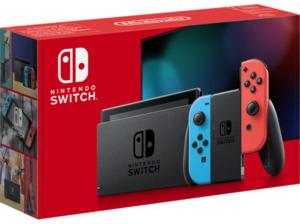 NINTENDO Switch Neon-Rot/Neon-Blau (neue Edition) Spielekonsole