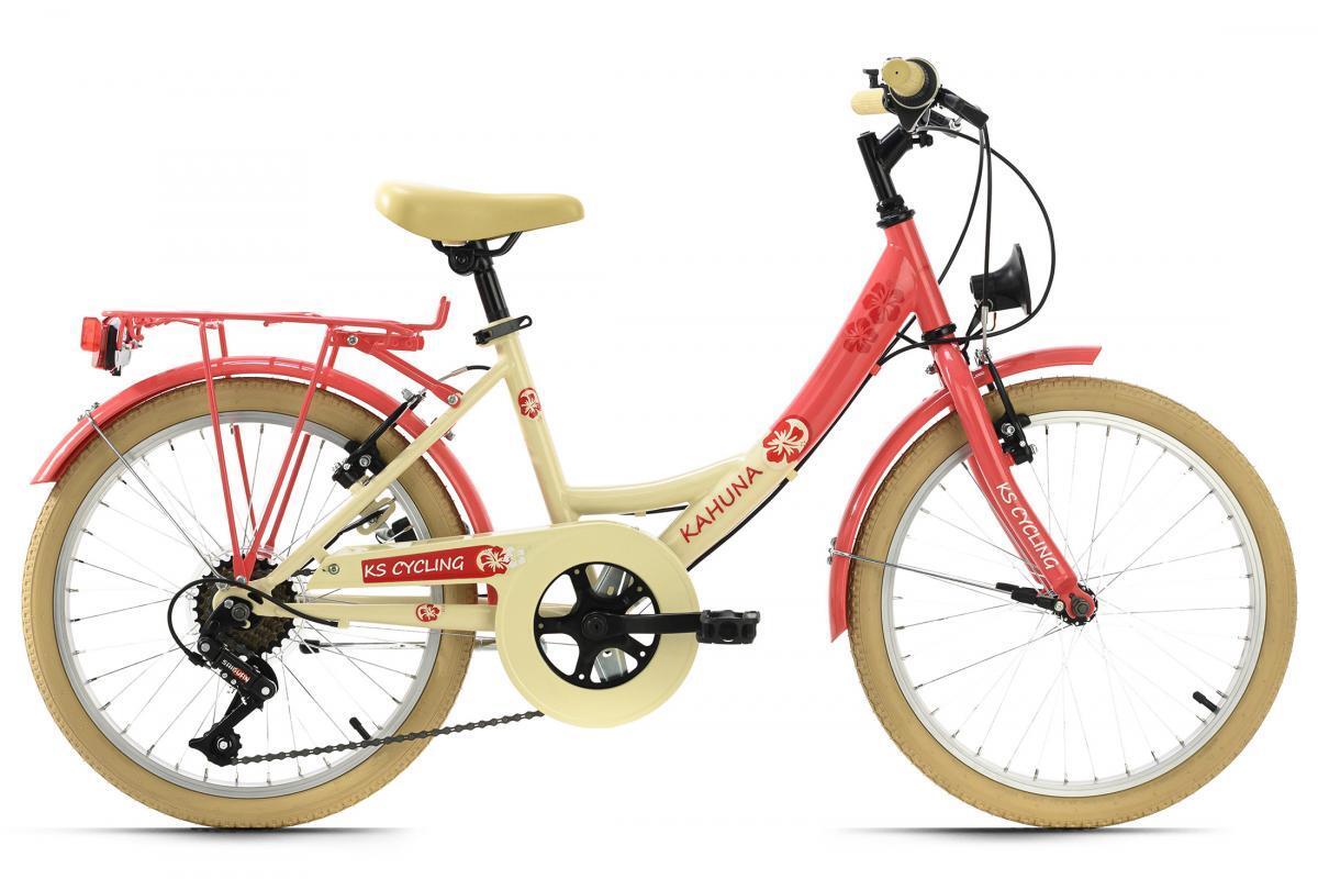 Bild 1 von KS Cycling Kinderfahrrad 20'' Kahuna beige-rot RH 34 cm