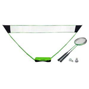 Badmintonset mit Netz im Koffer