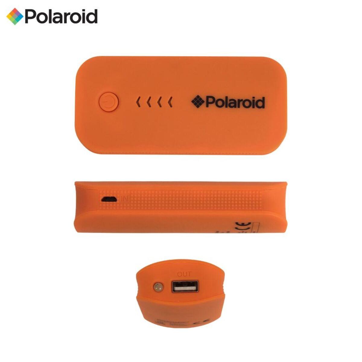 Bild 2 von Polaroid Power Bank Mobiler Akku-Pack 4000mAh Orange