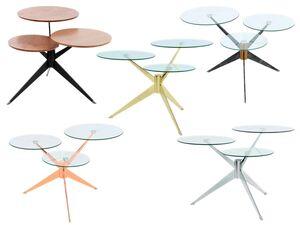 KAYOOM Beistelltisch »Triplet 110«, 3 Tischplatten auf verschiedenen Höhen, Metallgestell