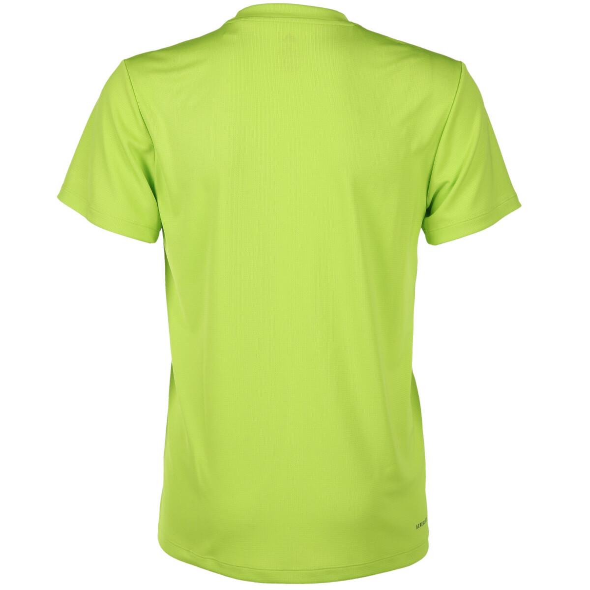 Bild 2 von Herren 3-Streifen Sportshirt AEROREADY