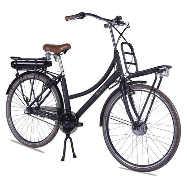 Llobe Alu Elektro City Bike Rosendaal 2 28 Zoll Lady schwarz 36V/10,4Ah
