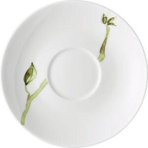 Rosenthal Untertasse Jade Magnolie spülmaschinenfest #mikrowellengeeignet Blumen
