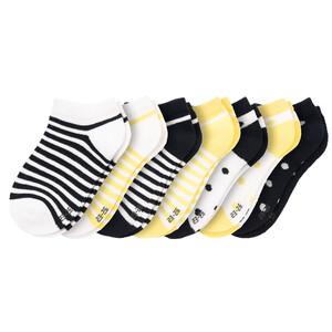 7 Paar Mädchen Sneaker-Socken im Set