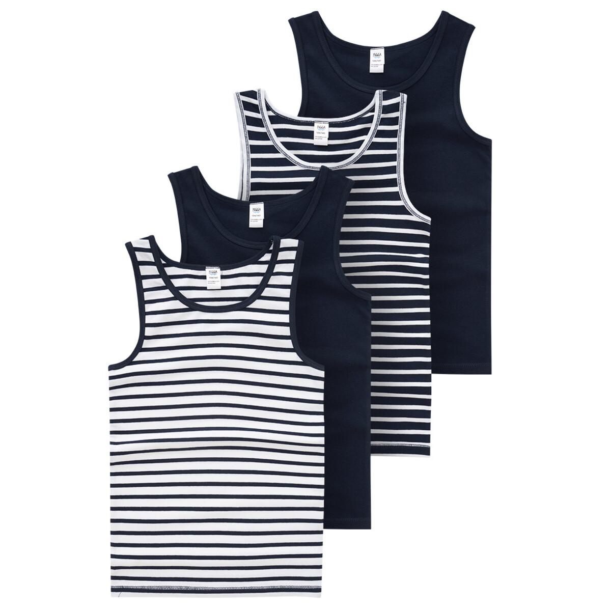 Bild 1 von 4 Jungen Unterhemden in verschiedenen Dessins
