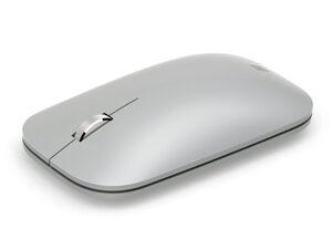 Microsoft Surface Mobile Mouse, Bluetooth-Maus, Platin Grau