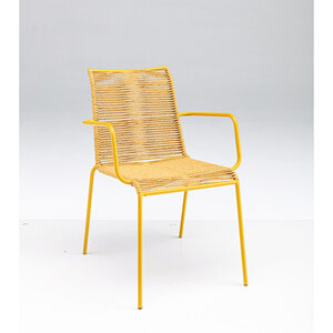 "Haveson              Stapelsessel ""Ibiza"" 55x86x62 cm, gelb"