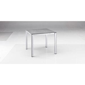 """Gartentisch """"Elemento"""" 90x74x90 cm, silber"""