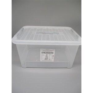 Aufbewahrungsbox mit Deckel, 25l 44x31x23cm
