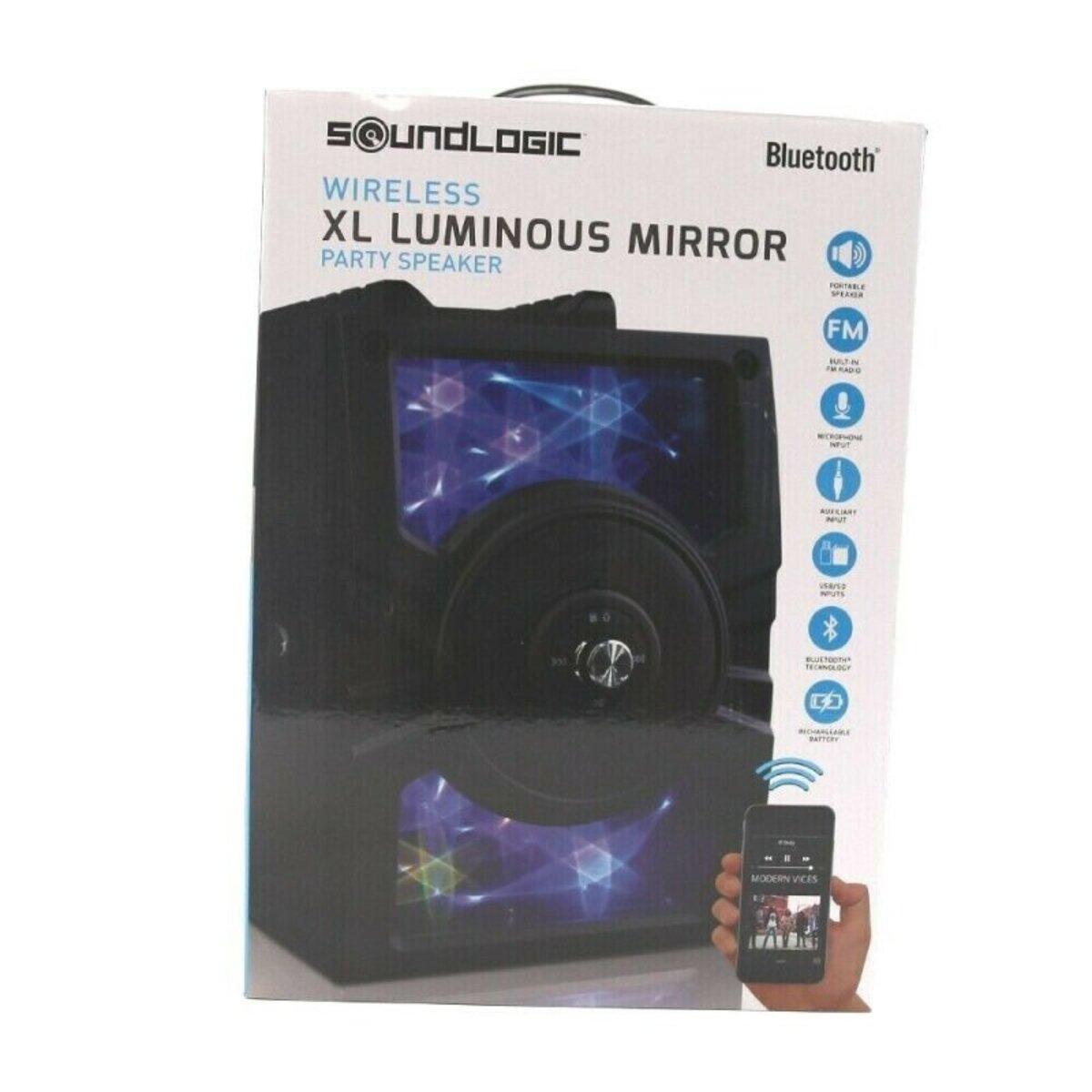 Bild 1 von Soundlogic Luminous Party Speaker Bluetooth Box Lautsprecher mit Karaokefunktion